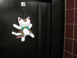 玄関でいつもニコニコ行ってらっしゃい、お帰りなさい